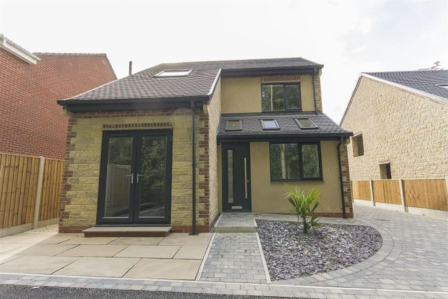 Thumbnail Detached bungalow for sale in Station Road, North Wingfield, Chesterfield