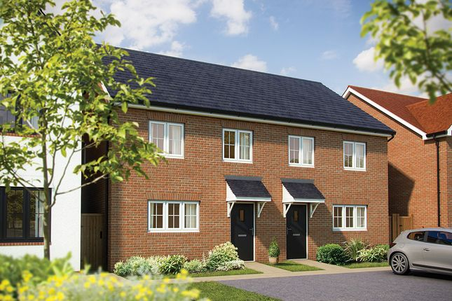 "3 bedroom semi-detached house for sale in ""The Rowan"" at London Road, Norman Cross, Peterborough"