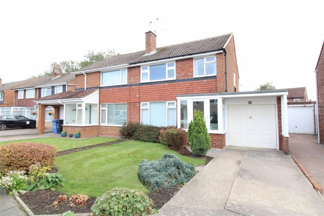 3 bed semi-detached house to rent in Ladywell Way, Ponteland, Newcastle Upon Tyne, Northumberland NE20