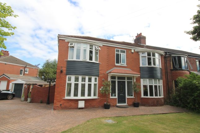 Thumbnail Semi-detached house for sale in Wilton Road, Salford