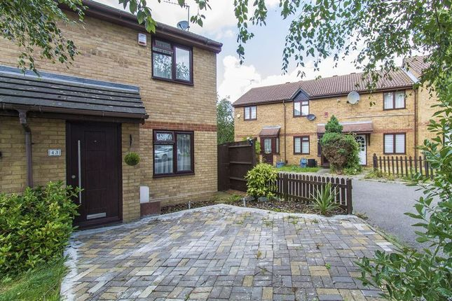 Thumbnail End terrace house for sale in Hazelwood Park Close, Chigwell