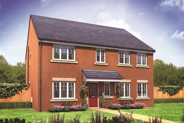 "Thumbnail Detached house for sale in ""The Holborn"" at Minchens Lane, Bramley, Tadley"