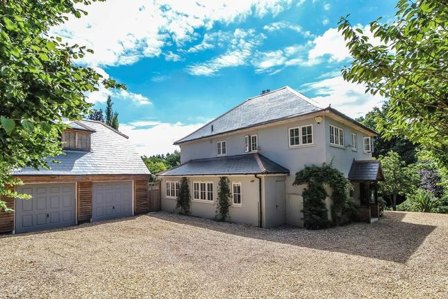 Thumbnail Detached house for sale in Bucklebury Alley, Cold Ash, Thatcham