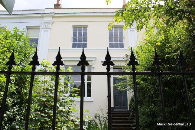 Thumbnail Terraced house to rent in Prestbury Road, Pittville, Cheltenham