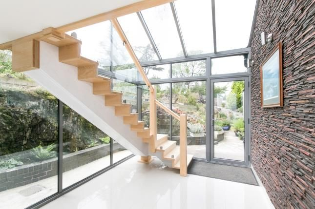 Fully Glazed Stairwe