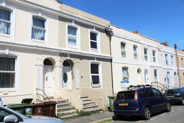 Thumbnail Terraced house to rent in Bayswater Road, Plymouth