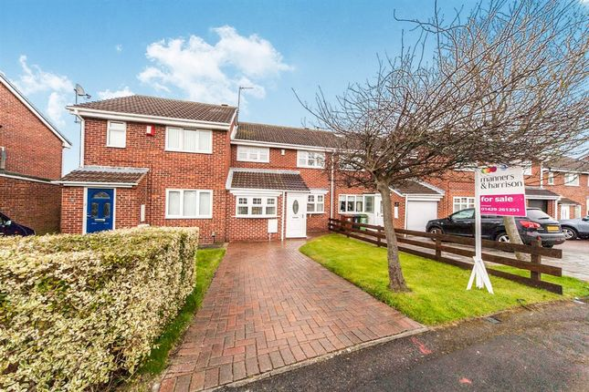 Thumbnail Terraced house for sale in Alderwood Close, Hartlepool