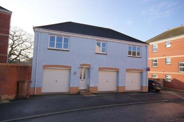 Thumbnail Detached house to rent in Raleigh Drive, Cullompton, Devon