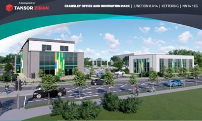 Thumbnail Commercial property for sale in Cransley Office And Innovation Park, Kettering, Northants