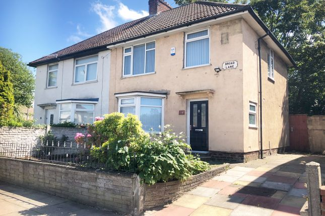 Thumbnail Semi-detached house for sale in Broad Lane, Liverpool