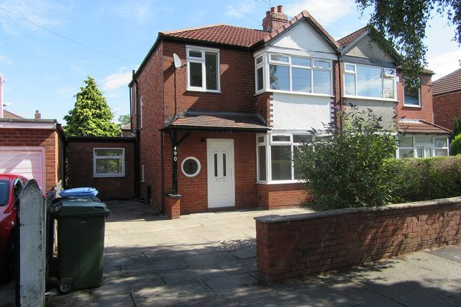 Thumbnail Semi-detached house for sale in Barton Road, Stretford, Manchester.