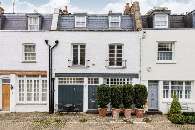 Thumbnail Terraced house for sale in Hyde Park Gardens Mews, Hyde Park, London