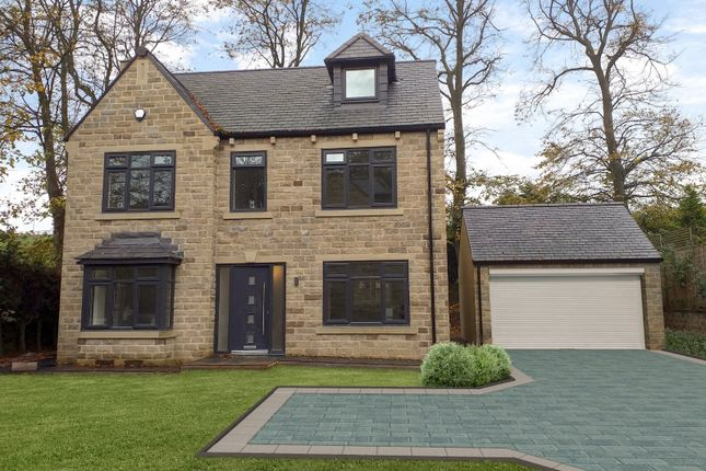 Thumbnail Detached house for sale in Clough Lane, Brighouse, West Yorkshire