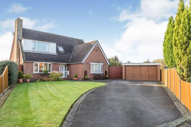 Thumbnail Detached house for sale in Cheshire House Close, Farington Moss, Leyland, Lancashire