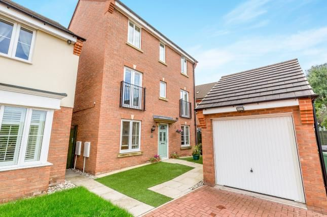 Thumbnail Detached house for sale in Thruxton Place, Caldecott Manor, Rugby, Warwickshire