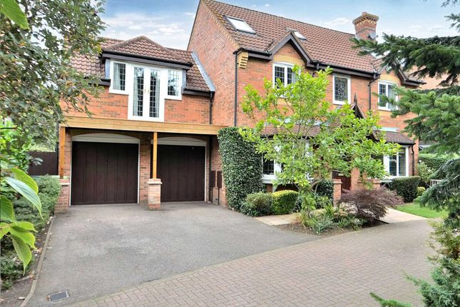 Thumbnail Detached house for sale in Blackwell Place, Shenley Brook End, Milton Keynes