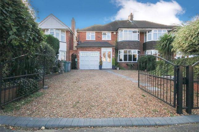 Thumbnail Semi-detached house for sale in Manor Park Road, Birmingham
