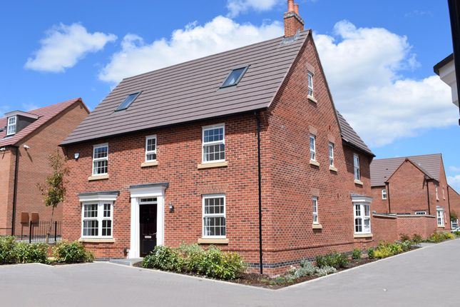"Thumbnail Detached house for sale in ""Moorecroft"" at Nottingham Road, Barrow Upon Soar, Loughborough"