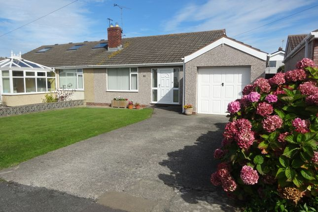 Thumbnail Semi-detached bungalow for sale in Mor Awel, Abergele