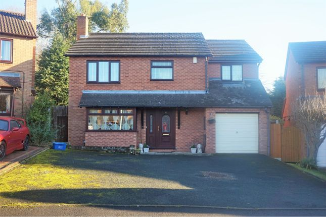 Thumbnail Detached house for sale in Chapmans Close, Stirchley Telford