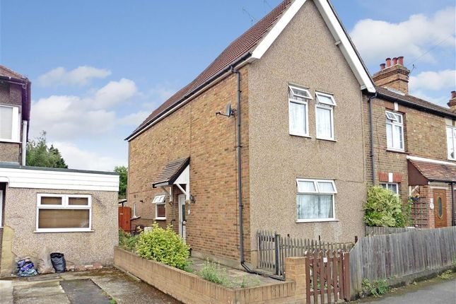 Thumbnail End terrace house for sale in New Road, Swanley, Kent