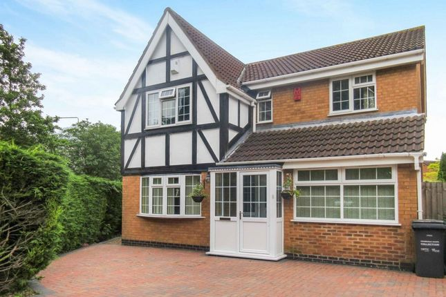 Thumbnail Detached house for sale in Mallard Drive, Syston