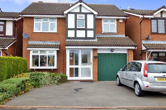 Thumbnail Detached house for sale in Fordham Grove, Pendeford, Wolverhampton