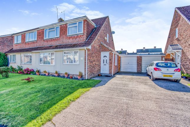 Thumbnail Semi-detached house for sale in Ruskin Drive, Warminster