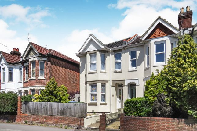 Thumbnail End terrace house for sale in Romsey Road, Shirley, Southampton