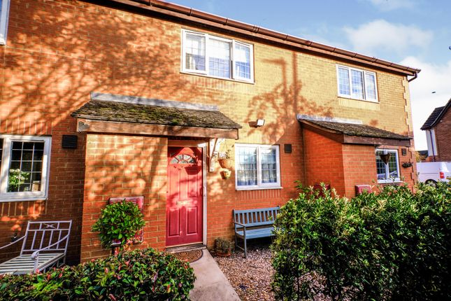 2 bed terraced house for sale in Barnes Road, Wootton MK43