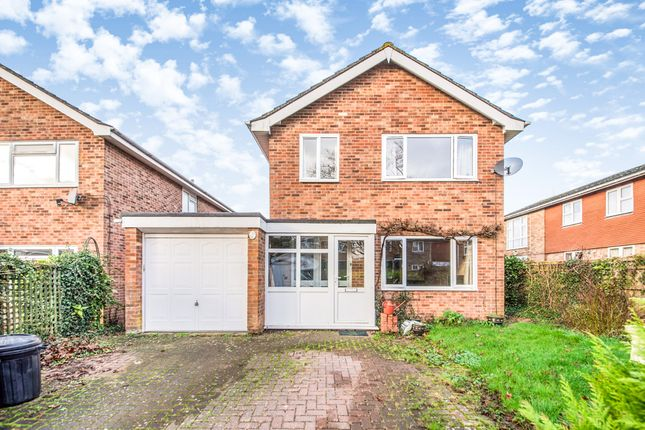 Thumbnail Detached house for sale in Hazel Close, Andover