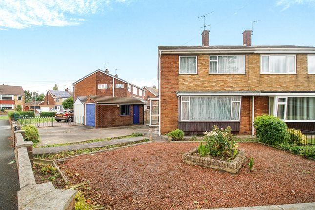 Thumbnail Semi-detached house for sale in Springfield Drive, Beverley