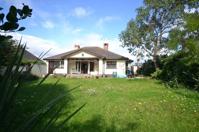 Thumbnail Detached bungalow for sale in Warren Drive, Prestatyn, Denbighshire.