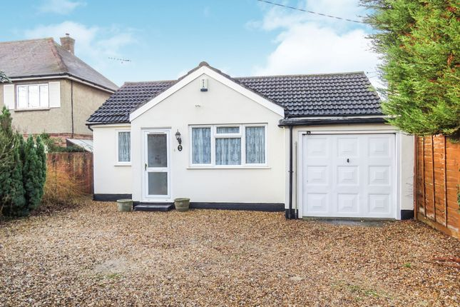 Thumbnail Detached bungalow for sale in London Road, Newport Pagnell