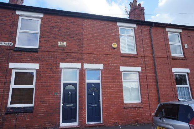 Thumbnail Terraced house to rent in Ventnor Road, Manchester