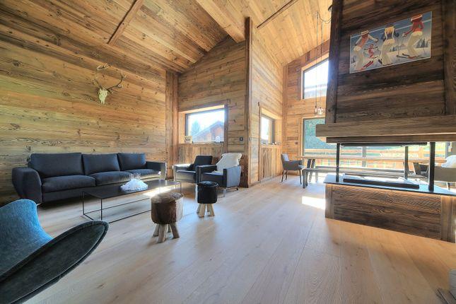 Living Room of Megeve, Rhones Alps, France
