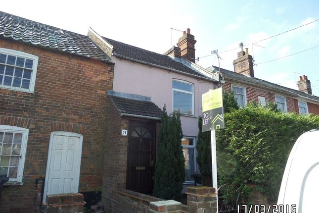 Thumbnail Terraced house to rent in School Cottages, Peddars Lane, Beccles