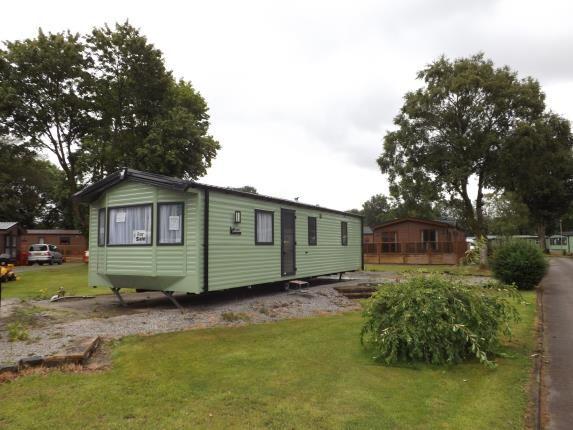 Thumbnail Mobile/park home for sale in Garsdale Road, Sedburgh, Cumbria, United Kingdom