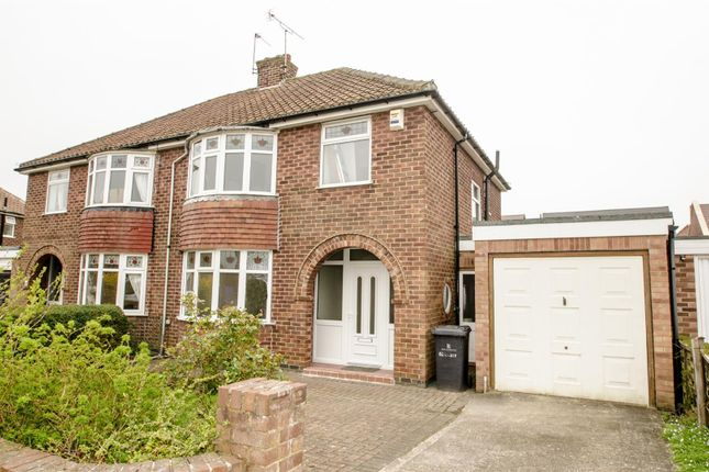 Thumbnail Semi-detached house to rent in Lycett Road, Dringhouses, York