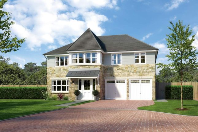 "Thumbnail Detached house for sale in ""Noblewood"" at Main Street, Symington, Kilmarnock"