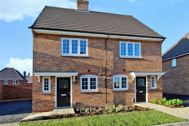2 bed semi-detached house for sale in Chimney Way, Stewartby, Bedford
