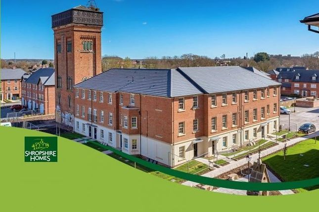 Flat for sale in Tower Place, Shropshire Homes, Stafford