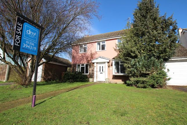 Thumbnail Detached house for sale in St. Marys Agnes Mews, The Street, Ardleigh, Colchester