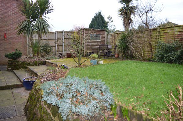 Rear Garden of Prospect Road, Market Drayton TF9