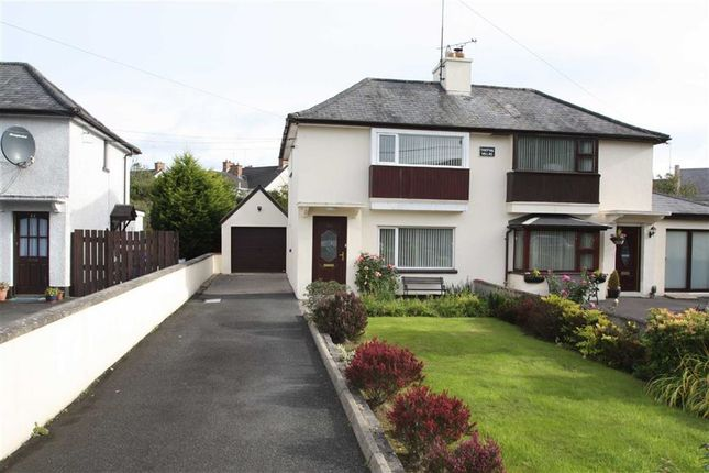 Thumbnail Semi-detached house to rent in Crossgar Road, Ballynahinch, Down