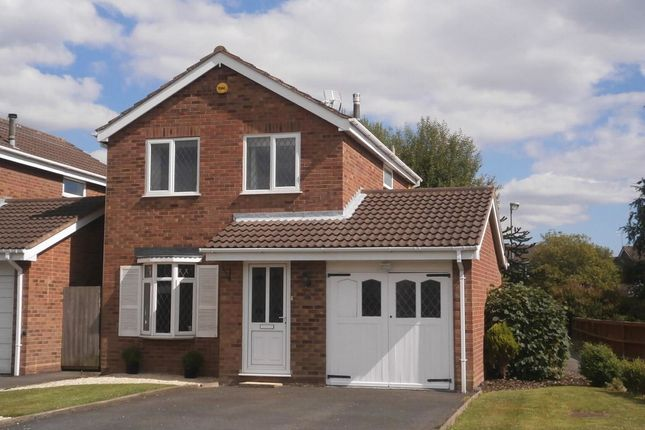Thumbnail Detached house to rent in Cornovian Close, Perton, Wolverhampton