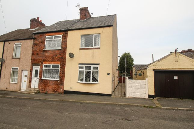 Thumbnail Terraced house for sale in Pretoria Street, Chesterfield