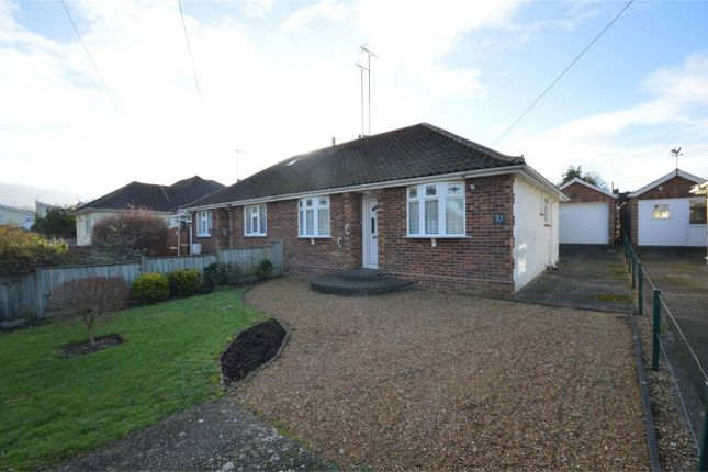 Thumbnail Semi-detached bungalow for sale in Gunton Lane, Costessey, Norwich