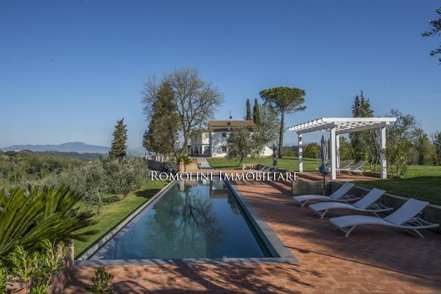 Exclusive Estate, Luxury Villa, Vineyards (Syrah, Marselan, Sangiovese), Olive Grove For Sale, Pisa, Italy