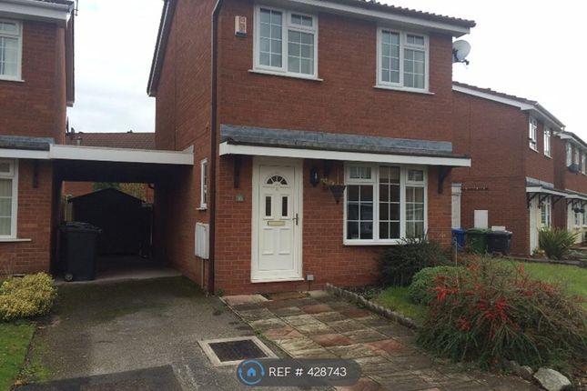 Thumbnail Detached house to rent in Hazelborough Close, Warrington